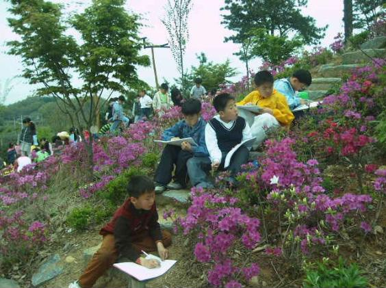 자연을 배우는 아이들