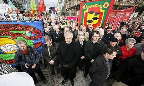 북아일랜드 내 IRA 무장세력에 대한 평화시위
