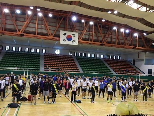 청주시장기 생활체육배구대회 개최