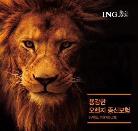 ING생명, '용감한 오렌지 종신보험' 현황 분석