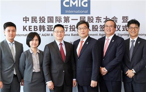 하나은행, 중국시장 간접진출…中보험사에 2300억 투자