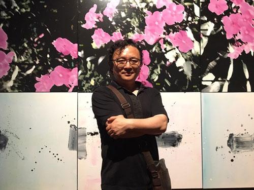 이호영, 韓-美 현대작가 국제 교류전