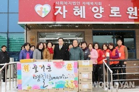 박홍률 목포시장, 설 맞아 민생현장 방문