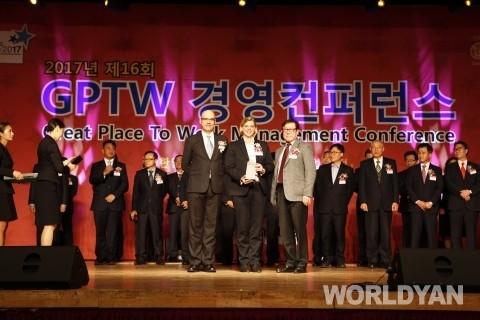 메르세데스-벤츠 파이낸셜 서비스 코리아, '대한민국 일하기 좋은 100대 기업'