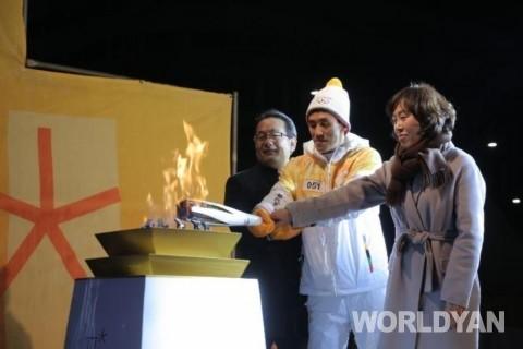 2018 평창 동계올림픽 성화, 세종시 봉송 성공적으로 마쳐