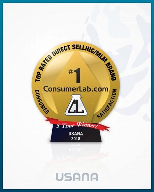 유사나, 미국 '컨슈머랩' 선정 '직접판매 건강기능식품 브랜드' 5연속 1위